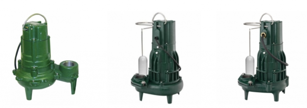 Zoeller Commercial Sewage and Ejector Pumps